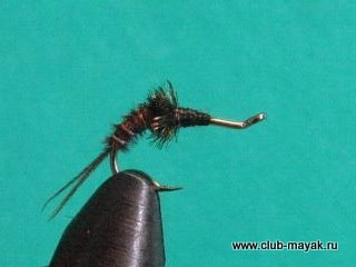 мокрая мушка American Pheasant Tail demi nymph