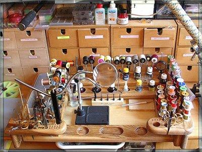 Инструменты для вязания мух